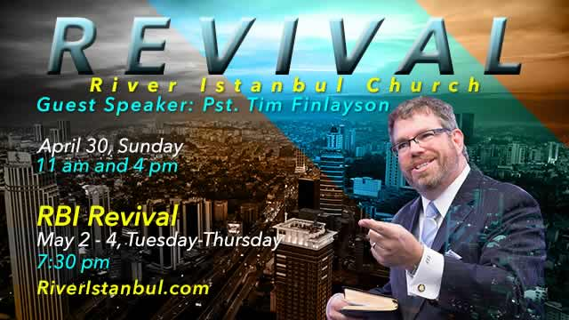 Revival Week with Pastor Tim Finlayson