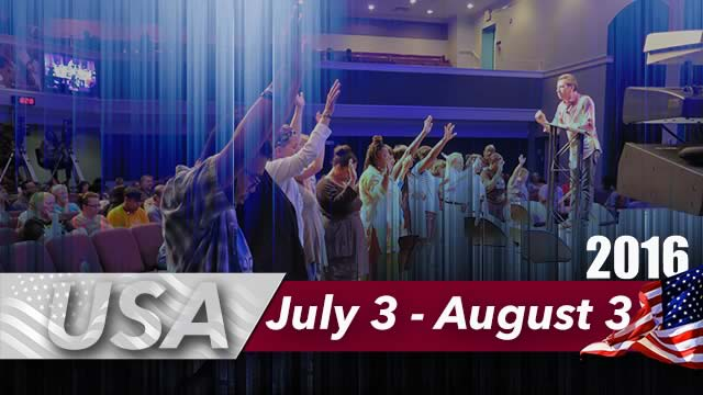 July - August 2016 - USA Revival Meetings